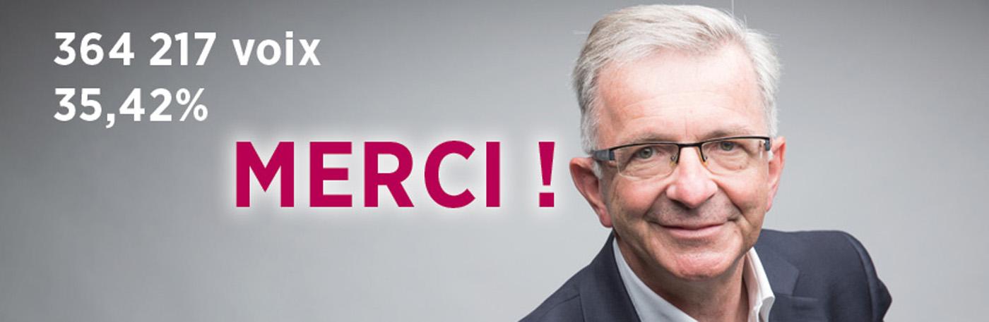 Victoire de François Bonneau ! Notre Région Centre-Val de Loire reste à gauche.