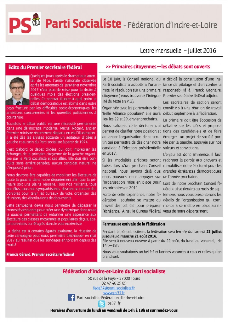 Newsletter fédé juillet 2016 - 3