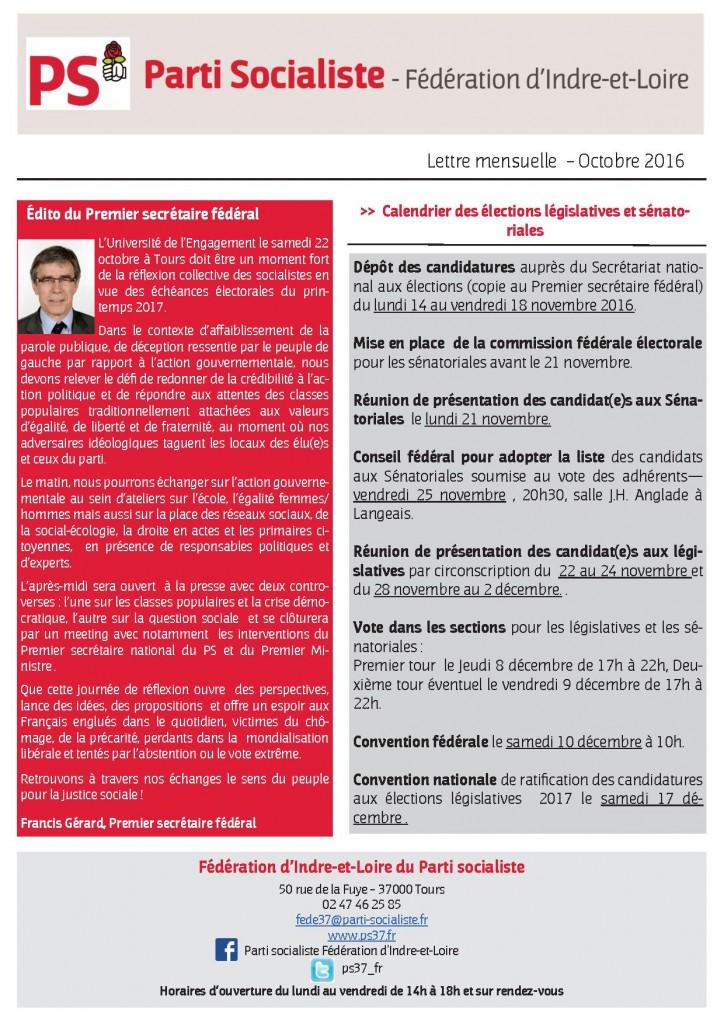 newsletter-fede-octobre-2016