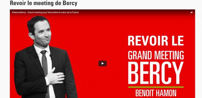Meeting Hamon Bercy