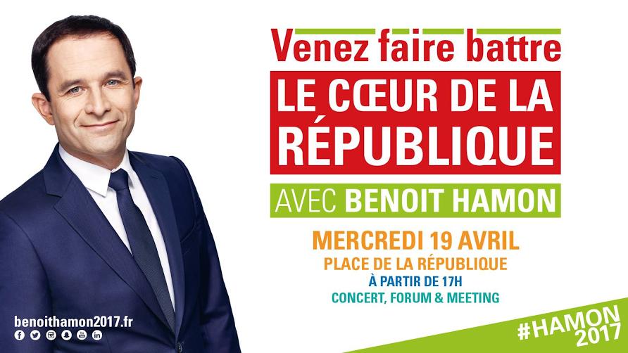 Meeting Hamon République